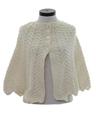 Womens Knit Sweater Cape
