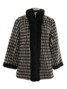 Womens Fake Fur Car Coat Jacket
