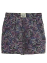 Unisex Totally 80s Baggy Print Shorts