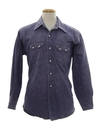 Mens Western Denim Shirt