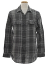 Mens Totally 80s Flannel Sport Shirt