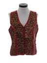 Womens Suede Leather Hippie Vest