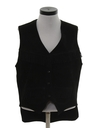 Womens Totally 80s Suede Leather Fringe Vest