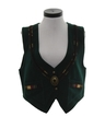 Womens Wool Equestrian Style Vest