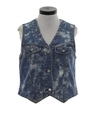 Womens Totally 80s Denim Vest