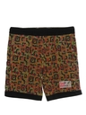 Mens 90s Print Baggy Shorts