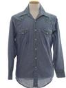 Unisex Chambray Hippie Western Shirt