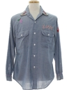 Unisex Chambray Hippie Shirt