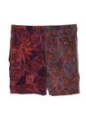 Unisex Wicked 90s Hippie Style Baggy Print Shorts