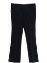 Mens Flared Leg Jeans Cut Leisure Pants