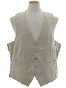 Mens Totally 80s Suit Vest