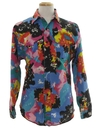Mens Totally 80s Western Shirt
