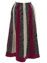 Womens Hippie Patchwork Skirt