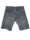 Unisex Levis 501 Cut Off Denim Shorts