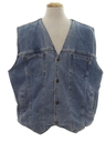 Mens Wicked 90s Reversible Denim Vest