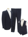 Mens Three Piece Western Style Disco Suit