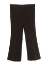 Mens Polyester Flared Bellbottom Leisure Pants
