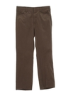 Mens Flared Western Pants
