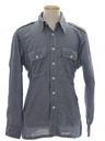 Mens Hippie Chambray Shirt