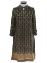 Womens Knit A-Line Dress