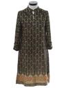 Womens Knit A-Line Dress