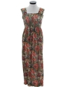 Womens Maxi Hippie Sun Dress