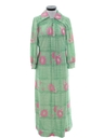 Womens Maxi Hawaiian Inspired Lounge Dress