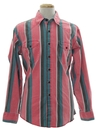 Mens Wicked 90s Geometric Print Western Shirt