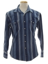 Mens Wicked 90s Denim Western Shirt