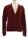Mens Wool Cardigan Sweater