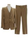 Mens Three Piece Disco Suit