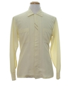 Mens Mod Embroidered Sport Shirt