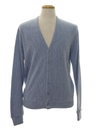 Mens Cardigan Golf Style Sweater
