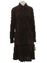 Womens Mod Leisure Skirt Suit
