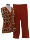 Womens Mod Pantsuit