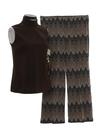 Womens Mod Combo Pantsuit