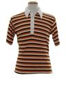 Mens Knit Golf Shirt