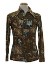 Mens Disney Photo Print Disco Shirt