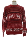 Mens Reindeer Ski Sweater