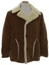 Mens Western Style Corduroy Coat Jacket