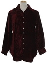 Mens Velvet Hippie Shirt