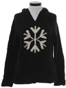 Womens Wool Snowflake Ski Sweater