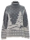 Womens Reindeer Ski Sweater