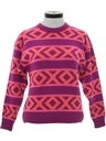 Womens Totally 80s Ski Sweater