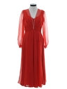 Womens Maxi Cocktail Dress