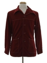 Mens Mod Leisure Shirt Jacket
