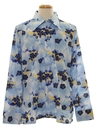 Mens Designer Print Disco Shirt*