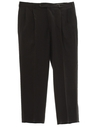 Mens Pleated Pants