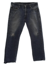 Mens Distressed 501 Jeans Pants
