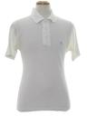 Mens Mod Knit Penguin Logo Golf Polo Shirt